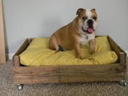 Homemade Dog Beds 11 Diy Pallet Dog Bed Ideas 99 Pallets