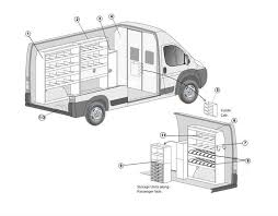 Sprinter Dimensions Interior Dodge Ram Promaster General Service Package U2013 159 U201d Wheelbase High