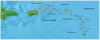 Map Of Eastern Caribbean by The Caribbean 8 Day Yacht Charter Worth Avenue Yachts