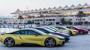 Bmw I8 Gold - bmw i8 colors abu dhabi in lava paint