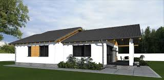 bungalow house 3d elevations 170 square meters 1829 square feet