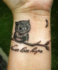 42 baby owl tattoos collection