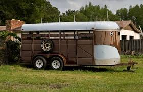 stock trailers another option for horses thehorse com