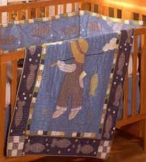 Fishing Crib Bedding Fishing 4 Crib Quilt Set