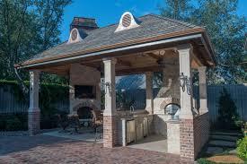 Kitchen Design Houston Hypnotic Houston Tx Outdoor Kitchen Design With Red Brick Column