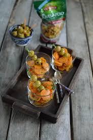 cuisine orientale recette verrines de carottes au cumin olives apéro recette orientale