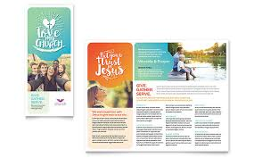 free template for brochure microsoft office church brochure template word publisher