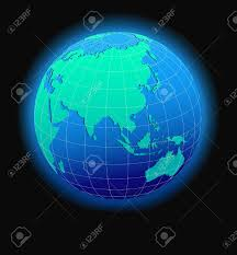World Map China by China And Asia Global World In Space Map Icon Of The World