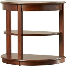 Side Table Half Round Classical Console Table 3d Model Black
