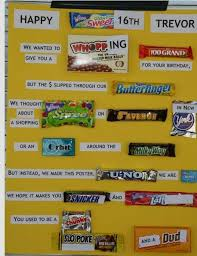 Birthday Card With Bars The 133 Best Images About Sweet 16 Ideas On Pinterest Candy Bars