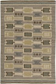 Cotton Weave Rugs Flooring U0026 Rugs Swedish Flat Weave Rug Scandinavian Rug Vintage