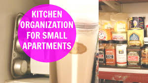 kitchen organization ideas for small apartments youtube