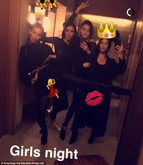 Bathroom Mirror Selfies by Kourtney Kardashian Cuddles Up To Lily Aldridge And Miranda Kerr