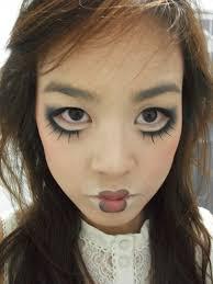 Creepy Doll Costume Halloween Makeup Doll Halloween Makeup Beautiful Makeup Ideas