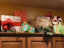 Decorations For Above Kitchen Cabinets Extremely Decorating Above Kitchen Cabinets For Christmas Tasty In