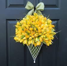 unique spring wreaths for front door u2013 home design ideas