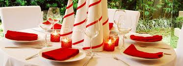 simple table decorations simple yet festive table decorations