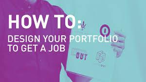 Design Com My First Design Portfolio Youtube