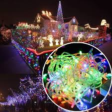 Cheap Christmas Decorations Online Australia by 100 Led 10m Christmas Tree Fairy Party Lights Xmax Waterproof