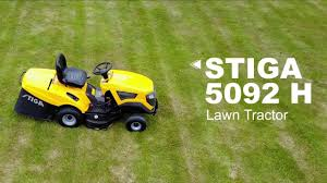 estate 5092 h lawn tractor stiga youtube