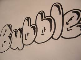 how do you draw bubble letters printable bubble letters