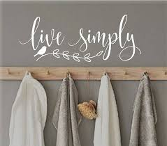 Wall Decal Letters For Nursery Live Simply Decal Inspirational Quote Wall Words Vinyl Letters