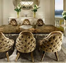 Luxury Dining Chairs Deep Buttoned Dining Chairs Taylor Llorente
