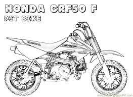 honda bike coloring art lessons honda bikes