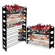Shoe Rack by Oxgord 10 Tier Shoe Rack Walmart