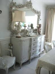 shabby chic wall mirror with drawers painted cottage chic shabby