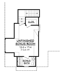 House Plans With Bonus Room Highland Court House Plan U2013 House Plan Zone