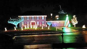 House Christmas Lights by Brad U0027s Bel Air Light Show Is Ready For U0027a Blue Christmas U0027 Starting