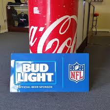 bud light tin signs find more bud light nfl metal sign for sale at up to 90 off