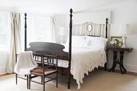 Black Poster Bed Bedroom Stunning Bedroom Decoration With Black Wood Four Poster