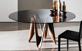 round dining tables for contemporary living spaces porus studio