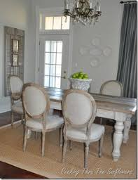 This Deep Gray Dining Room Blends Country And Traditional Styles - Farmhouse dining room set