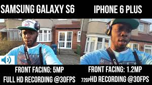 Iphone 6 Meme - samsung galaxy s6 vs iphone 6 plus front facing camera youtube