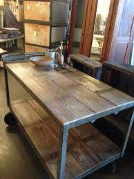 kitchen islands industrial kitchen island for marvelous wood and