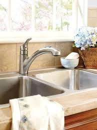 Moen One Handle Pullout Kitchen Faucet Renzo Spot Resist Stainless One Handle Pullout Kitchen Faucet Moen