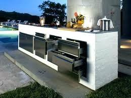 cuisine exterieure d ete cuisine exterieure moderne piscine a dacbordement cuisine dactac