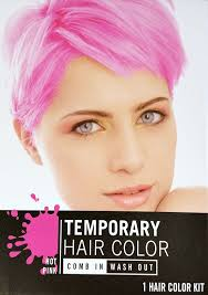 amazon com temporary hair color dye pink cherry red