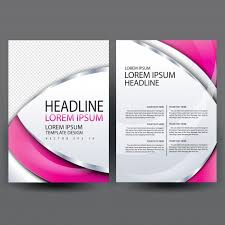 design flyer brochure template design vector premium