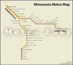 Minneapolis Metro Transit Map by Minnesota Metro U2014 Map Lines Route Hours Tickets