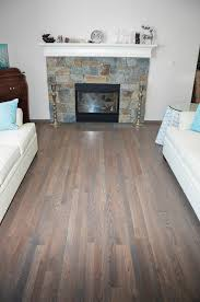 hardwood flooring traditional oak with grey stain