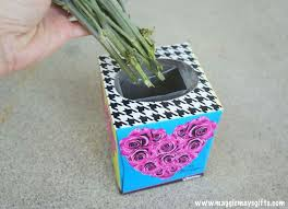Decorate Flower Vase Tissue Box Flower Vase Hometalk