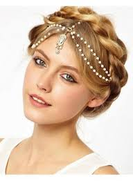 hair ornaments fashion bridal hair accessories metal beaded pearl bridal crown