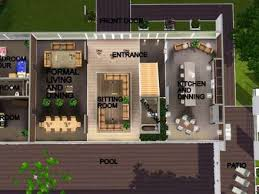 Dog House Floor Plans Sims 3 Floor Plans Family Homes Zone