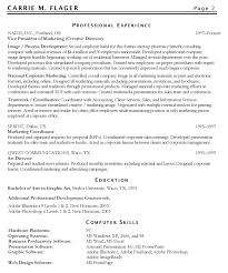 Manager Resume Objective Marketing Resume Objectives Examples Resume Examples Objective