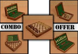 of 5 magnetic chess sets