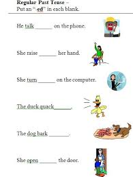 Resume Present Tense Bunch Ideas Of Past Tense Ed Worksheets Also Resume Huanyii Com
